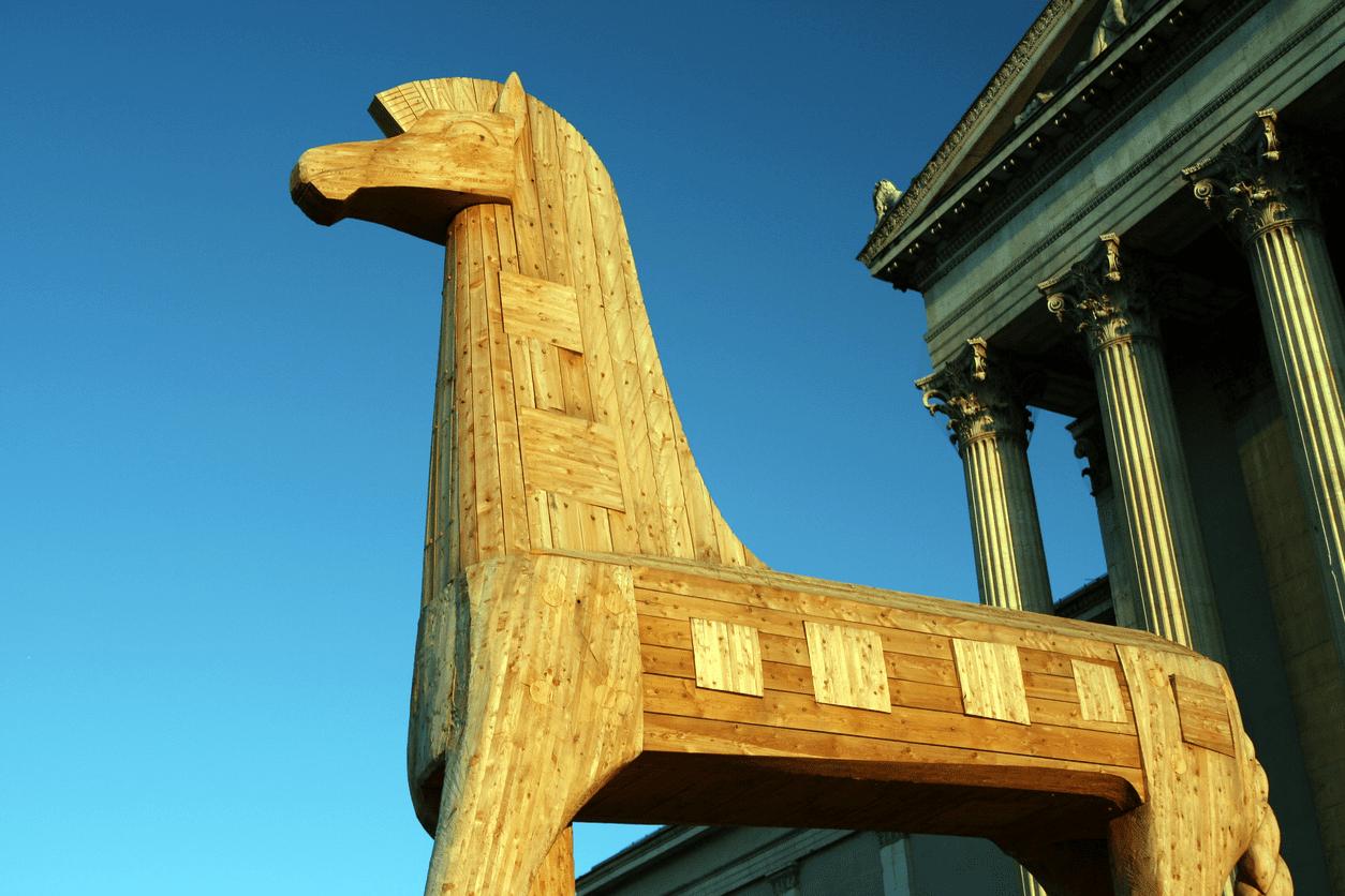 Trojan Horses Aren't Merely Greek Myths or Computer Viruses
